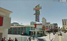 "Thunderbird Motel, Reno, Nevada.  Googie style.   39°31'49.86""N 119°48'51.52""W"