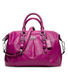 COACH MADISON LEATHER JULIETTE - Satchels - Handbags & Accessories - Macy's