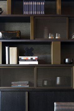 Interior Design Business, Home Office Design, House Design, Shelf Design, Cabinet Design, Bookcase Shelves, Shelving, Apartment Interior, Built Ins