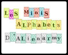 Planche mini alphabet