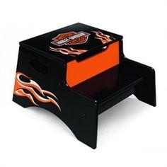 Harley Davidson Flame Step N Store for Kids | Kids Furniture | Harley Davidson