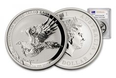 2014 Australia 1-oz Wedge Tailed Silver Eagle GEM Coin . Beautiful new Silver Eagle, first of its kind from Australia!