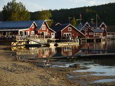 Höga Kusten - The High Coast Finland, Denmark, Norway, Sailing, Coast, Cabin, World, House Styles, Beautiful
