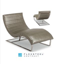 This beautifully upholstered chaise is all-modern when it comes to design. The impeccable upholstery complete with channel detail is contrasted by the cool pop of the metal frame. Blending support and comfort Kush is the perfect place for guests to crash after a busy day of meetings or site-seeing. #HDExpo2016