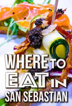 San Sebastian Pintxos and Beaches on the Mind Basque Country, Spain, Journal, Eat, Ethnic Recipes, Food, Sevilla Spain, Essen, Meals