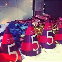 Birthday Hat Fun #HLturns5