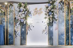 Wedding Backdrop Design, Wedding Stage Design, Engagement Party Decorations, Floral Backdrop, Outdoor Wedding Decorations, Backdrop Decorations, Wedding Stage Backdrop, Garden Party Wedding, Indoor Wedding