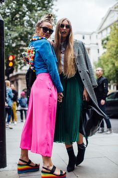The Best Street Style At London Fashion Week Spring Summer 2018