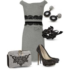 """""""Houndstooth For Party 2"""" by yasminasdream on Polyvore"""