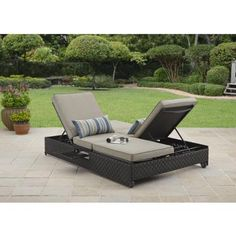 $429 if the round one won't work...Better Homes and Gardens Avila Beach Double Lounger/Sofa
