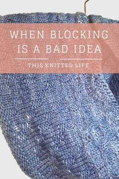 Sometimes Blocking is Not a Good Idea