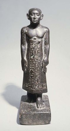 Statue of Khentika with Shaved Head Period: Middle Kingdom Dynasty: Dynasty 13 Date: ca. 1802–1640 B.C.