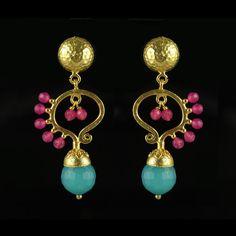 Butterfly earrings by Karla Diaz Cano