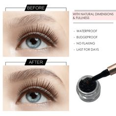 Get your perfect natural eyebrows here .Eyebrow Extension Fiber Gel Containing fibers of soft & tiny hair that create natural eyebrows look. Your dream of having perfect natural eyebrows is coming true. Brow Brush, Brow Gel, Brow Tinting, Sparse Eyebrows, Natural Eyebrows, Natural Makeup, Eyebrow Makeup Tips, Eye Makeup, Beauty Makeup