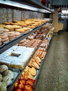 Panadería Tampico en la Ciudad de México.