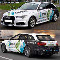 Create a great car-design for German IT company (Audi A6 2006) Design by PimpYourRide