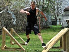 homemade ninja warrior obstacles - Google Search