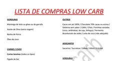 LISTA DE COMPRAS LOWCARB.pdf