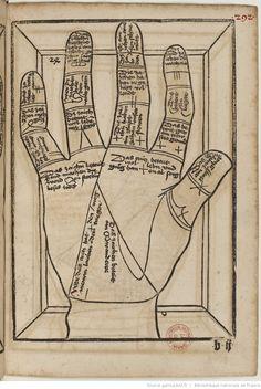Titre :  Die Kunst Ciromantia  Auteur :  Hartlieb, Johann  Éditeur :  Jörg Schapf (Augsburg)  Date d'édition :  1490-1495  XYLO-41  Folio 292r