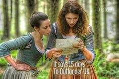 15 Days to #Outlander  UK on @AmazonVideoUK - Claire & Jenny are ready!!