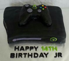 Xbox birthday cake with controller