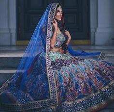 Image may contain: 1 person Pakistani Wedding Dresses, Indian Wedding Outfits, Wedding Attire, Indian Dresses, Indian Outfits, Indian Clothes, Desi Clothes, Wedding Saree Blouse, Bridal Lehenga