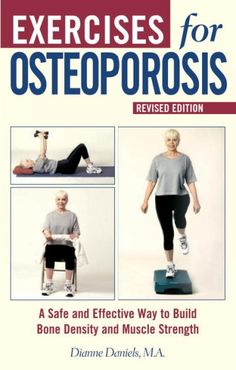 "Not just a ""woman"" condition, osteoporosis affects men too and people of all ages. Learn safe exercises and techniques for building bone density and muscle."