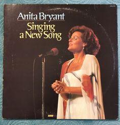 Anita Bryant - Singing A New Song  lp  album  1977  VG+ / VG+  | eBay