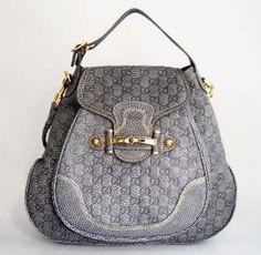 Gucci Guccissima Leather Shoulder Bag 223955 Gray Feminino E Masculino,  Sacolas, Carteira, Carteira 564bd4ebd0
