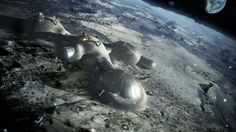 The European Space Agency is teaming up with London-based architecture firm Foster + Partners and others to explore the possibility of building a lunar base using a printer. Norman Foster, Impression 3d, Ufo, Foster Architecture, Space Architecture, Futuristic Architecture, Innovative Architecture, London Architecture, Urban Architecture