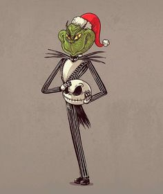 The Nightmare Before Christmas - El Grinch