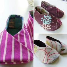 KimonoStyle Baby Booties PDF Pattern :)