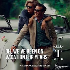 Oh, we've been on vacation for years #happinessisthenewwealthy