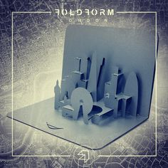 Paper in a third dimensiom! ;) #London #popup #mailers #FoldForm #folded_for_function #3D #card #city www.foldform.co.uk