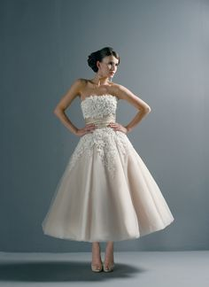Wedding dress inspiration - White wedding dress by Justin Alexander (8465) with tulle. Love this dress!