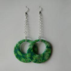 Krásné náušnice v zelených tónech ve tvaru kruhů s kamínky. www.online-sperky.eu Washer Necklace, Jewelry, Jewlery, Jewerly, Schmuck, Jewels, Jewelery, Fine Jewelry, Jewel