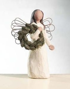 New Willow Tree Figurines Nativity Families Ideas Willow Tree Statues, Willow Figurines, Willow Tree Figures, Willow Tree Nativity, Willow Tree Angels, Tree Drawing Simple, Palm Tree Drawing, Simple Tree, Tree Branch Centerpieces