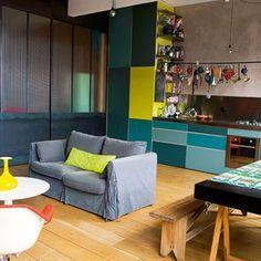 Avant : une pièce à vivre totalement ouverte
