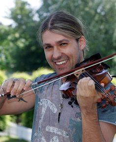 David Garrett, the German violinist. I adore his music & his smile. ;-)