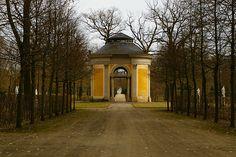Rheinsberg Palace garden folly, Germany.