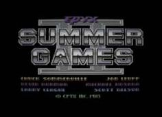 A collestion of high-res title screens using superb PAL filters for recreating what it really looked like back Summer Games, Screens, Canvases, Window Screens