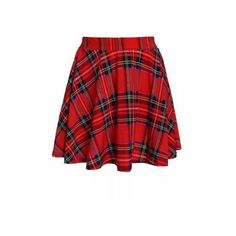 Retro Plaid Printed Spandex Skating Skirt ($6.24) ❤ liked on Polyvore featuring skirts, red, print skirt, red knee length skirt, spandex skirt, red tartan plaid skirt and lycra skirt