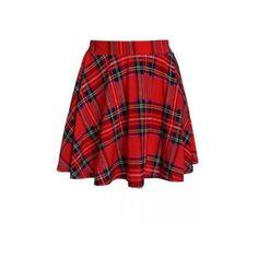Retro Plaid Printed Spandex Skating Skirt ($6.27) ❤ liked on Polyvore featuring skirts, red, plaid skirt, tartan skirt, tartan plaid skirt, red plaid skirt and red tartan plaid skirt