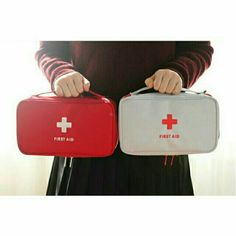Empty Bag for First Aid Kit Drugs Portable Medical Package Tour Outdoor Creative Emergency Bag Big Size Safety Bag First Aid Kit Travel, Emergency Bag, First Aid Supplies, American Red Cross, Oxford Fabric, Big Bags, Herschel Heritage Backpack, Survival Skills, Travel Accessories