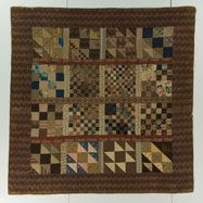 ca. 1860-1880 - check out the site and look at as many quilts as you like from the Quilt Museum!