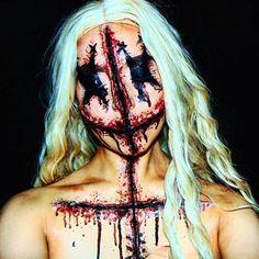 • • #voodoodoll #voodoodollmakeup #gore #sfx #sfxmakeup #specialeffects #scarwax #facepaint #facepainting #bodypaint #makeup #makeupartist #motd #creativemakeup #fantasymakeup #horrormakeup #horror #horrorgram #creepy #halloweenmakeup #crazymakeups #halloweenmakeupideas #mehronmakeup #halloweenmakeuptutorial #makeuptutorial #thehorrorhub #horror_sketches #beardedhorror #jordanhanz #ellimacssfx