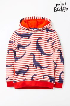 49c2b8bb2c6c Buy Boden Red Nessie Fun Hoody from the Next UK online shop