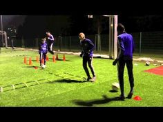 Kondition - Koordination integriert mit Leitern und Ball - YouTube Soccer Workouts, Soccer Drills, Youth Football, Football Stuff, Soccer Warm Ups, Goalkeeper Training, Up Fitness, Plyometrics, Karate