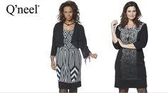 Q´neel tøj til store kvinder - Q´neel kjoler, tunica, bluser