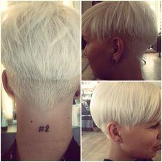 .@trinebroedholt   Så fik søde maria helt nyt hår! Før var det en skarp page, Sharin Foo inspire...